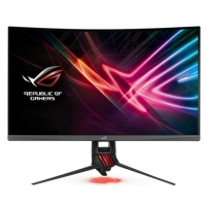 "Monitorius Asus ROG Strix XG32VQ 31.5 "", VA, WQHD, 2560 x 1440 pixels, 16:9, 4 ms, 300 cd/m², Dark gray, Red"
