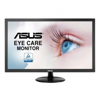 "Monitorius Asus VP228DE 21.5 "", TN, FHD, 1920 x 1080 pixels, 16:9, 5 ms, 200 cd/m², Black Lcd monitori"