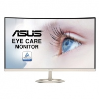"Monitorius Asus VZ27AQ 27 "", IPS, WQHD, 2560 x 1440 pixels, 16:9, 5 ms, 250 cd/m², Icicle Gold, Black Lcd monitors"