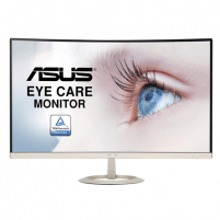 "Monitorius Asus VZ27VQ 27 "", VA, FHD, 1920 x 1080 pixels, 16:9, 5 ms, 250 cd/m², Icicle Gold, Black"