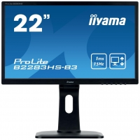 Monitorius Iiyama B2283HS-B3 22inch, TN, Full HD, VGA, DVI-D, speakers