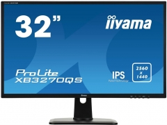 Monitorius Iiyama XB3270QS-B1 A 32inch, panel IPS, WQHD, DVI/HDMI/DP, HAS, speakers LCD ir LED monitoriai