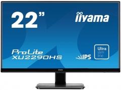 Monitorius LCD 21,5 Prolite XU2290HS-B1, IPS LED, Full HD, DVI, HDMI, Garsiakalbiai, blac