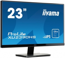 LCD 23 Prolite XU2390HS-B1, IPS LED, Full HD, DVI, HDMI, Garsiakalbiai, black