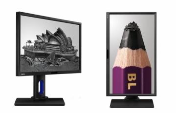 Monitorius LED 24 BL2420PT 0.205 QHD 2560x1440 20M:1 (typ 1000:1) 300cd 178/178 5ms VGA/DVI/DP/HDMI/USB SPK:1Wx2, Pivot, HAS, c:Black