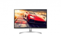 Monitorius LG 27UL500-W 27inch IPS UHD 4K, DP/HDMI, HDR 10 LCD ir LED monitoriai