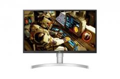 Monitorius LG 27UL550-W 27inch IPS 4K, DP/HDMI LCD ir LED monitoriai