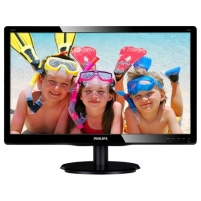 Monitorius PHILIPS 220V4LSB 22'' TFT LCD 16:10 / 1680x1050 / 0.282/ 83Khz/ 5ms/10M:1 (typ.1000:1)/ H=170, V=160/ 250cdqm/VGA LCD ir LED monitoriai
