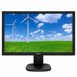 Monitorius Philips 243S5LHMB/00, 24 FullHD, panel TN, D-Sub/HDMI, garsiakal.