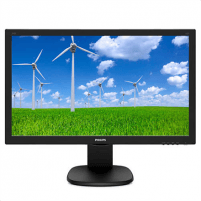 "Monitorius Philips 243S5LHMB/00 23.6 "", TN, FHD, 1920 x 1080 pixels, 16:9, 1 ms, 250 cd/m², Black LCD ir LED monitoriai"