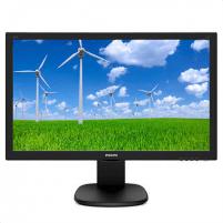 """Monitorius Philips 243S5LJMB/00 23.6 """", TN, FHD, 1920 x 1080 pixels, 1 ms, 250 cd/m², Black Lcd monitori"""