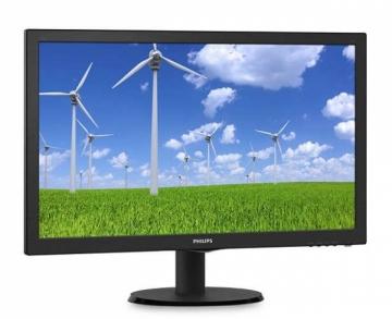 Monitorius Philips 243S5LSB5/00, 24, TN, Full HD, DVI/D-Sub