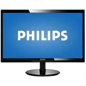 Monitorius PHILIPS 246V5LHAB 24'' (61cm) TFT WLED LCD Glossy Black Lcd monitori