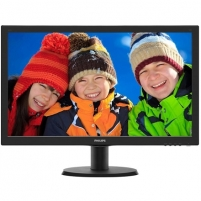 "Monitorius Philips 273V5LHAB/00 27 "", FHD, 1920 x 1080 pixels, 16:9, TFT, 1 ms, 300 cd/m², Black, VGA, Audio, Power"