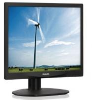Monitorius Philips S-line 17S4LSB/00 17 LED, 5ms, DVI, juodas