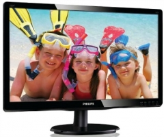 Monitorius Philips V-line 220V4LSB/00 22 LED, DVI, EPEAT Silver, EPA5.0,Juodas Lcd monitori