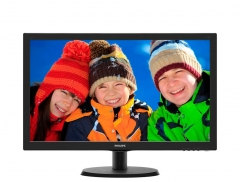 Monitorius Philips V-line 223V5LSB 21.5 LED FHD, DVI, 250 cd/m2, 170/160 LCD ir LED monitoriai