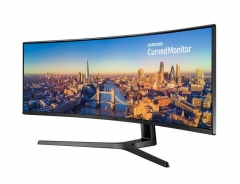 Monitorius Samsung 49inch LC49J890DKUXEN, CJ89, 3840x1080, 144Hz ,HDMI, Ultrawide, speakers