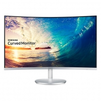 Monitorius Samsung C27F591 Curved VA 4ms, VGA, HDMI, DP, 2x5W LCD ir LED monitoriai