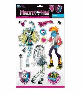 Monster High 1091 Lipdukai 3D Kanceliarinės prekės vaikams