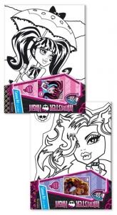 Monster High 1166 piešiam paveikslą Toys for girls