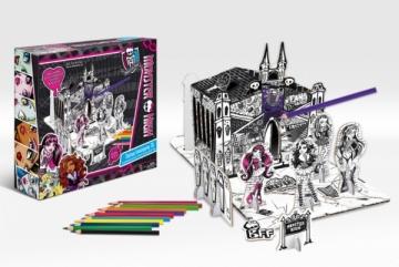 Monster High 9027 Mokykla Monster High rinkinukas Kanceliarinės prekės vaikams