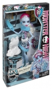 Monster High Art Class Abbey Bominable Doll BDF11 / BDF13