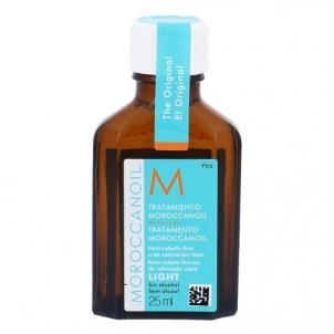 Moroccanoil Treatment Light Oil Cosmetic 25ml Plaukų stiprinimo priemonės (fluidai, losjonai, kremai)