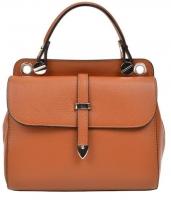 Moteriška bag Carla Ferreri AW19CF1543 Cognac Handbag