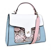 Moteriška bag Verde Ladies 6-5525 Blue Handbag