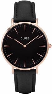Women's watches Cluse La Bohème Rose Gold Black / Black