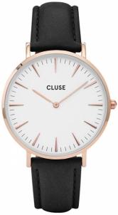 Moteriškas laikrodis Cluse La Bohème Rose Gold White/Black