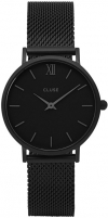 Women's watches Cluse Minuit Mesh Full Black