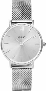 Sieviešu pulkstenis Cluse Minuit Mesh Full Silver
