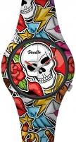Women's watches Doodle Skull Mood Comic Skull DOSK003 Women's watches