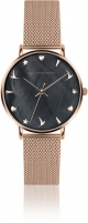 Moteriškas laikrodis Emily Westwood Dark Seashell EAU-3218