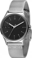 Women's watches Esprit Essential Black Silver Mesh ES1L034M0065