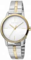 Moteriškas laikrodis Esprit Yen Silver Gold T/T MB ES1L106M0095