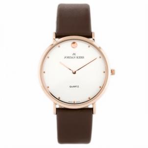 Moteriškas laikrodis Jordan Kerr B2239G/IPRG/BROWN