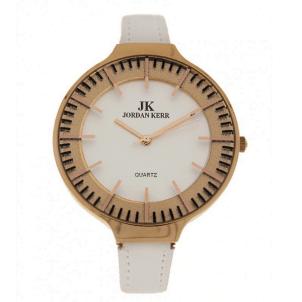 Moteriškas laikrodis Jordan Kerr C2735ALX/IPR/WHITE