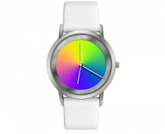 Moteriškas laikrodis Rainbow e-motion of colors Gamma white leather AV45SsW-WL-ga