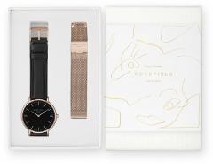Moteriškas laikrodis Rosefield Dárková sada The Bowery BBRMR-X188 Moteriški laikrodžiai