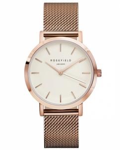 Laikrodis Rosefield THE MERCER White Rose Gold Women's watches