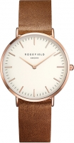 Women's watches Rosefield The Tribeca White-Brown-Rosegold