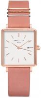 Moteriškas laikrodis Rosefield TheBoxy White Old Pink Rose Gold QOPRG-Q026
