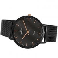 Moteriškas laikrodis RUBICON RNBD76BIBZ03BX