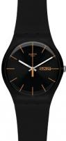 Moteriškas laikrodis Swatch Dark Rebel SUOB704 Moteriški laikrodžiai