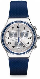 Sieviešu pulkstenis Swatch Frescoazul YVS439 Unisex pulksteņi