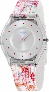 Moteriškas laikrodis Swatch Jardin Fleuri SFE102