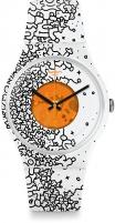 Moteriškas laikrodis Swatch Orange Pusher SUOW167